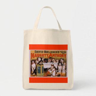 Cat Chorus! - Grocery Tote Bags