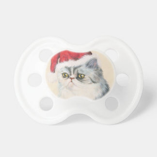 Cat Christmas Pacifier