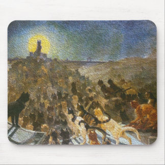 Cat City by artist Théophile Steinlen Mouse Pad