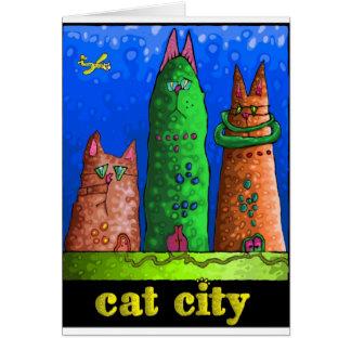 cat city card