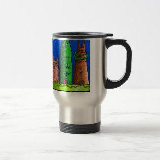 cat city travel mug