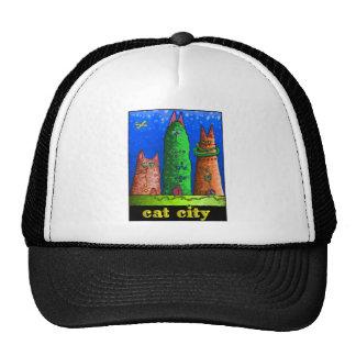 cat city trucker hat