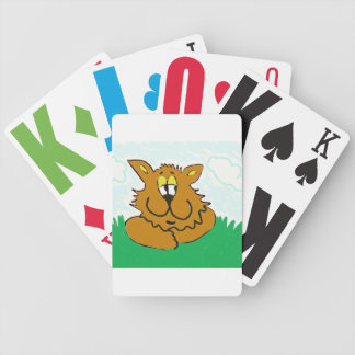 cat clemens a deck of cards