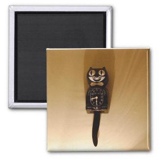Cat Clock Magnet