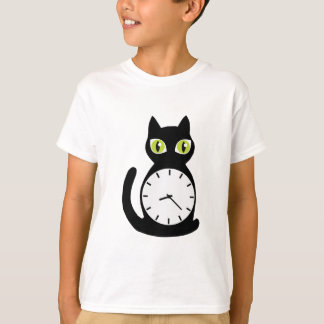 Cat Clock T-Shirt