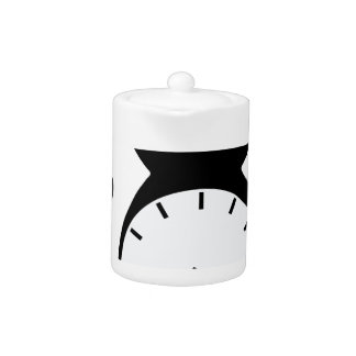 Cat Clock Teapot