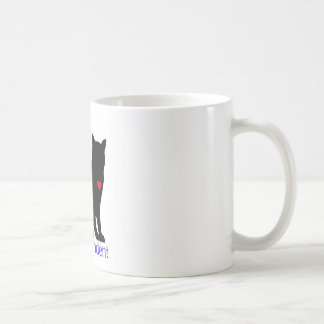Cat Co-Dependent Classic White Coffee Mug