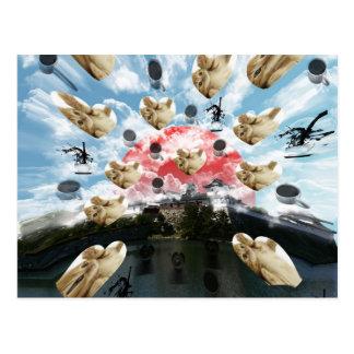 Cat coffee Imabari compilation 2 Postcard