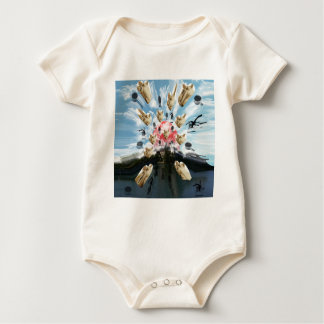 Cat coffee Imabari compilation 3 Baby Bodysuit