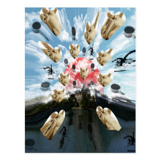 Cat coffee Imabari compilation 3 Postcard