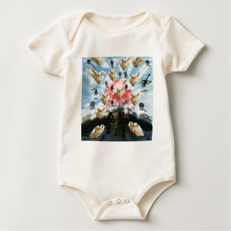 Cat coffee Imabari compilation 4 Baby Bodysuit