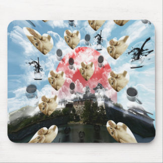 Cat coffee Imabari compilation 4 Mouse Pad