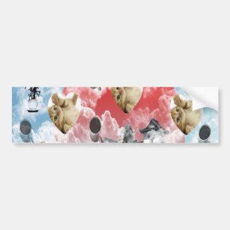 Cat coffee Imabari compilation 5 Bumper Stickers
