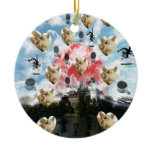 Cat coffee Imabari compilation 6 Ceramic Ornament