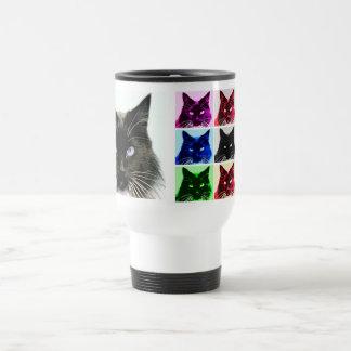 Cat Collage Travel Mug