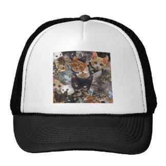 Cat Collage Trucker Hat