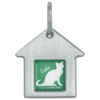 Cat collar ID tags for your pet   Customizable Pet Name Tags