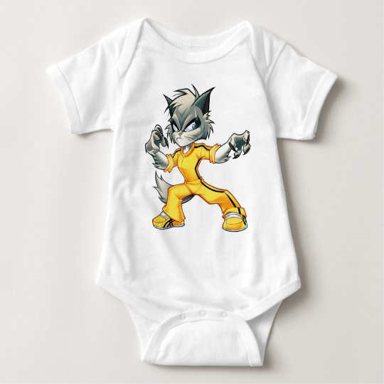 Cat Collection Baby Bodysuit