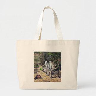 Cat Conversation Bags