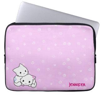 Cat Couple Laptop Sleeve