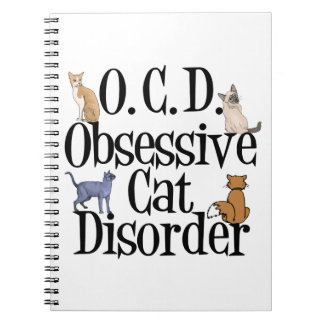 Cat Crazy Note Book