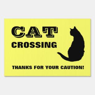 No Cats Yard Amp Lawn Signs Zazzle