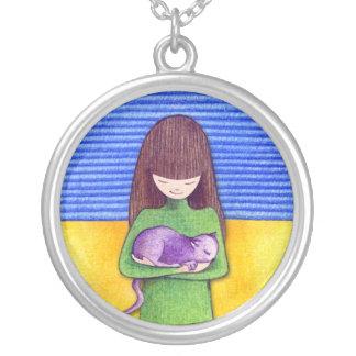 Cat Cuddle Necklace