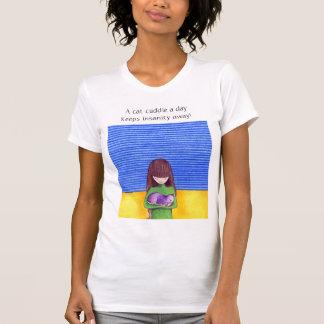 Cat Cuddle T-shirt