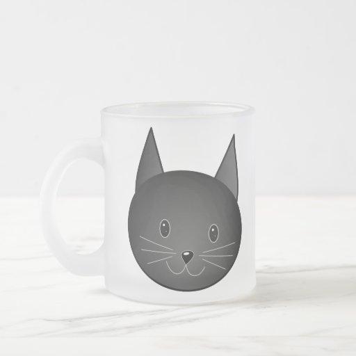 Cat. Cute black kitty. Coffee Mug