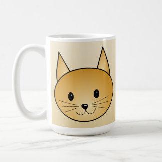 Cat. Cute ginger kitty. Coffee Mug