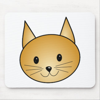 Cat. Cute ginger kitty. Mouse Pad