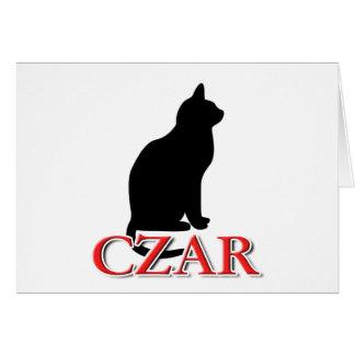 Cat Czar Card