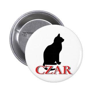Cat Czar Pinback Buttons