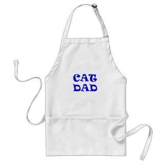 Cat Dad Adult Apron
