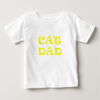 Cat Dad Baby T-Shirt