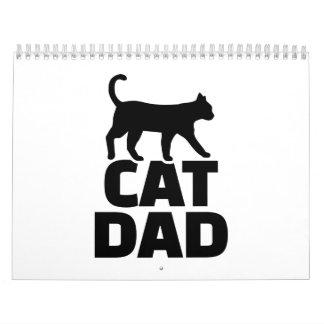 Cat dad calendar