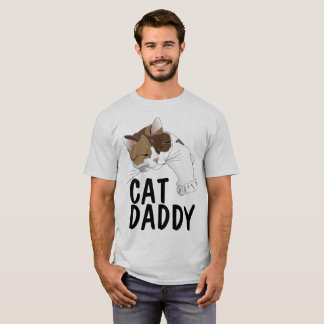 CAT DADDY funny Men's Cat Dad t-shirts