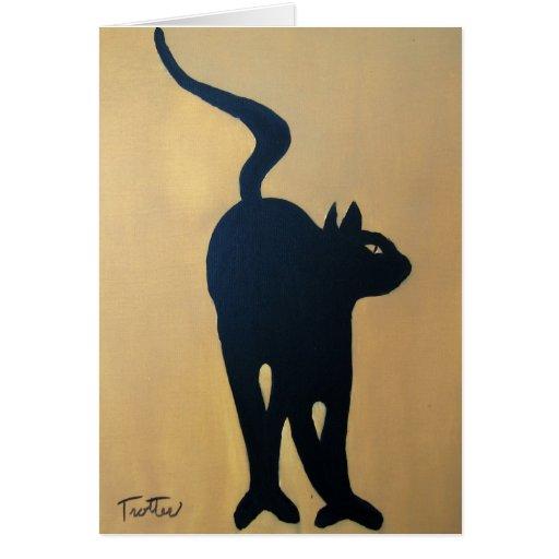 CAT DANCE CARD