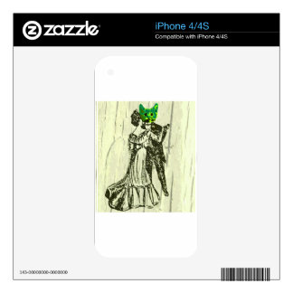 Cat Dance iPhone 4 Decal
