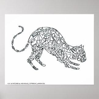 CAT de BRUJAS por NICHOLAS_COPYRIGHT_MI… Impresiones