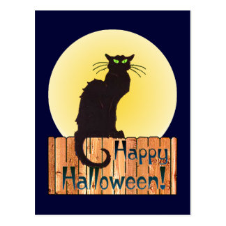 CAT de HALLOWEEN de SHARON SHARPE Postales