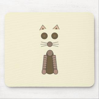 CAT de Tabby Alfombrilla De Raton