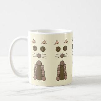 CAT de Tabby Taza De Café