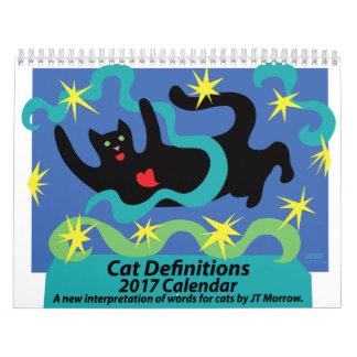 Cat Definitions Calendar