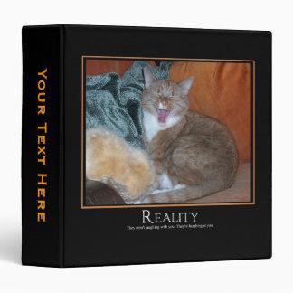 Cat Demotivator Binder