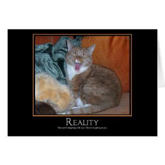 Cat Demotivator Card