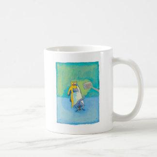 Cat Dentist fun unique whimsical illustration art Coffee Mug