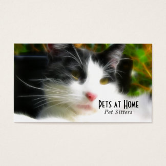 Cat Design Business Card
