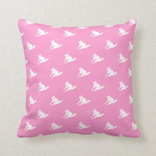 Throw Pillows 20 X 20 : Cat Design Throw Pillow 20