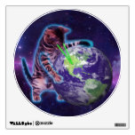 Cat destroying the world with eye laser wall decal<br><div class='desc'>cat, meme, &quot;world cat&quot;, &quot;space cat&quot;, &quot; into space&quot;, &quot; laser cat&quot;, &quot;purple cat&quot;, &quot;cat world&quot;, &quot;meme cat&quot;, &quot; in space&quot;, &quot; cat laser&quot;, &quot;cosmic cat&quot;, &quot;cat galaxy&quot;, &quot;cat laser eyes&quot;, &quot;cat purple&quot;, &quot;ray cat&quot;, &quot;cat ray&quot;, space, cats, galaxy, cool, funny, blue, light, laser, stars, cosmos, kittens, cute, ray, pet,...</div>